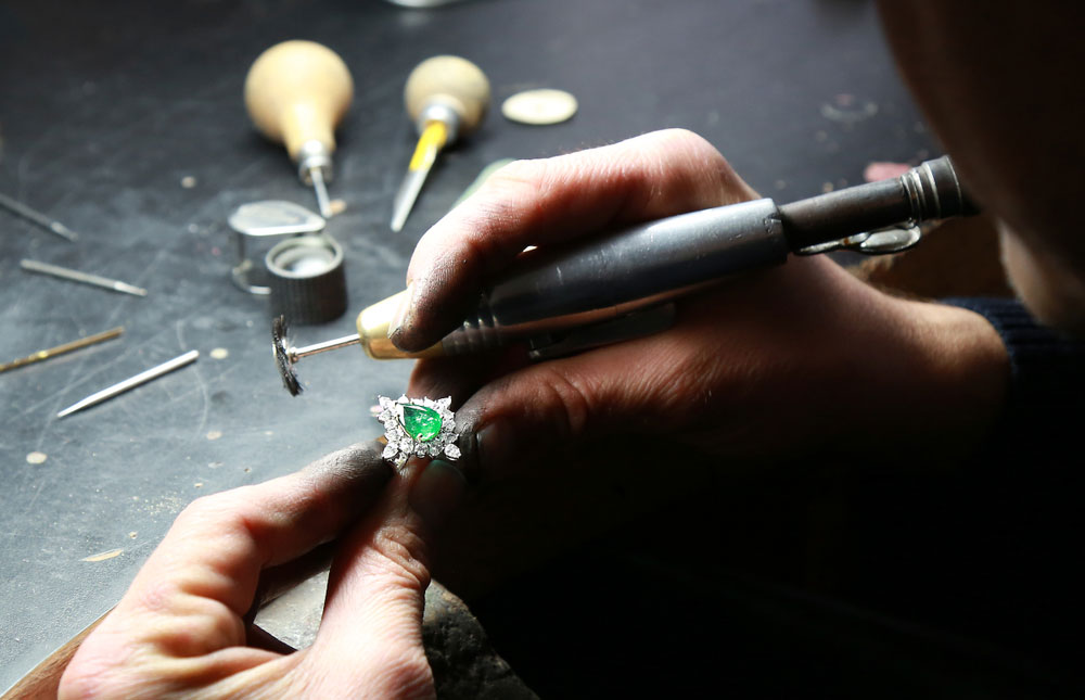 Custom jewelry designing