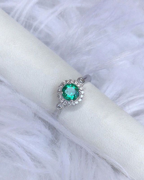 Emerald Ring Grand Rapids Jewelry
