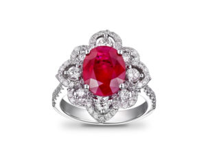 Rubies Unique Engagement Rings Preusser Jewelers