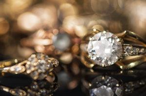 Beautiful vintage diamond rings