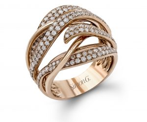 Simon G. Diamond Ring from Collection