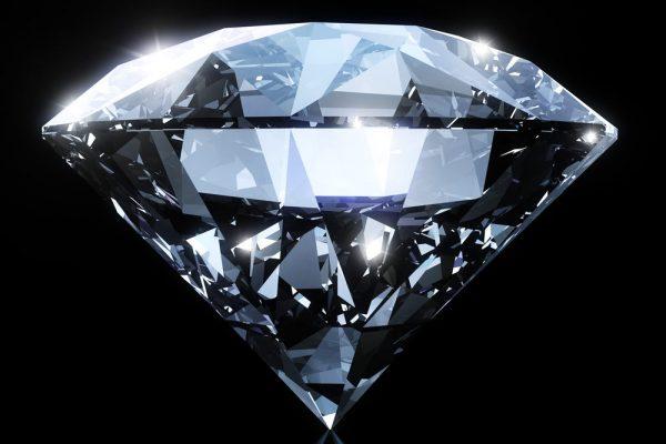 Enlarged diamond